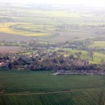 <p>Cuddesdon and Denton from the air</p>